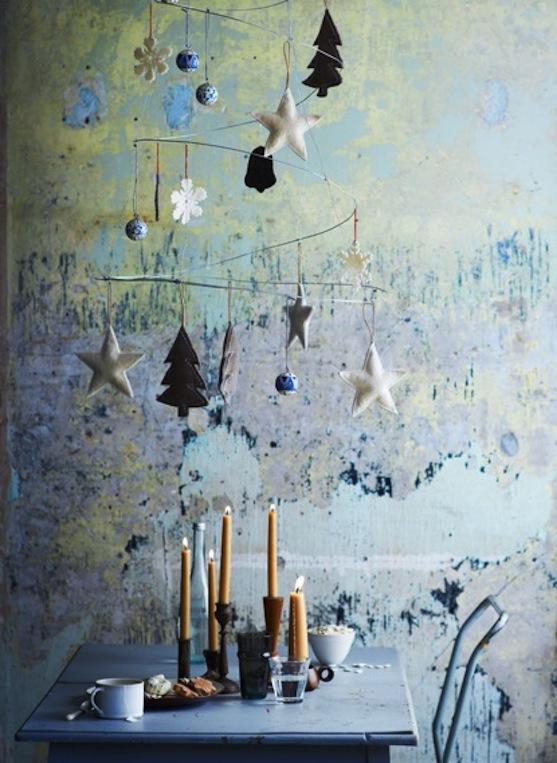 Modern Christmas Tree Decoration Idea