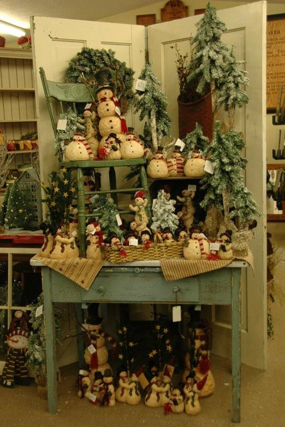 Rustic Holiday Decorating Ideas Part - 19: Rustic Country Christmas Crafts. Rustic-Country Christmas Decorating Ideas  Thewowdecor