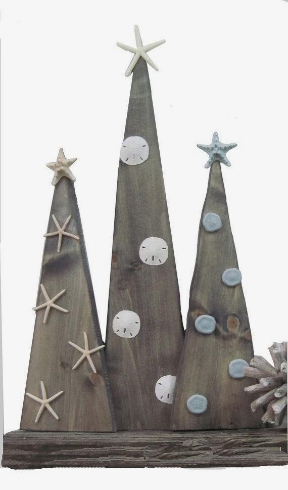 Wooden Christmas Tree Decoration Ideas