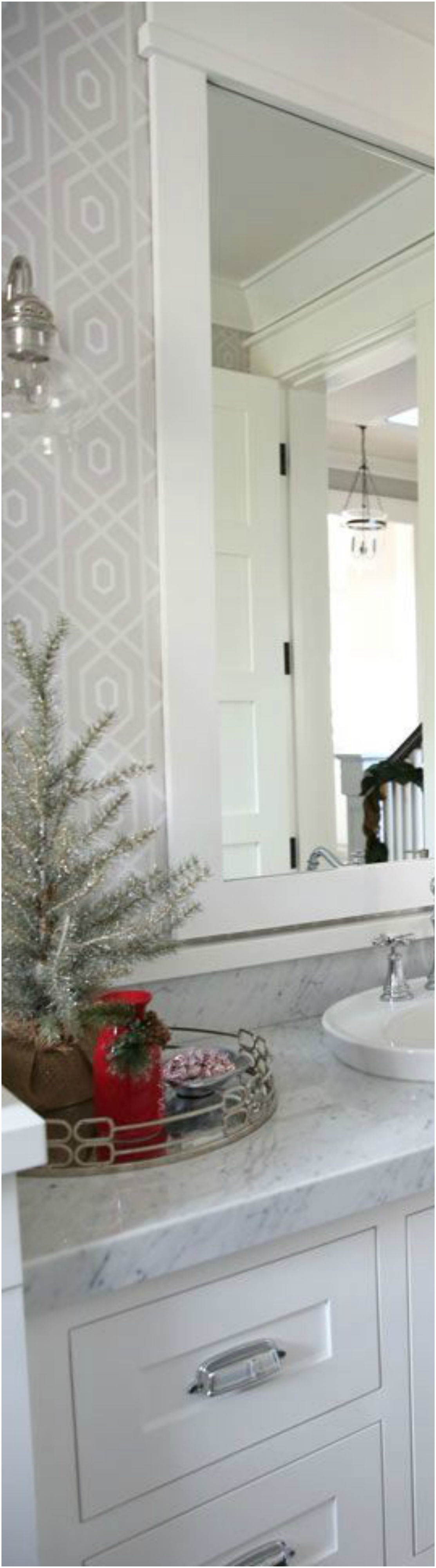 Bathroom Christmas Decoration Ideas (6)