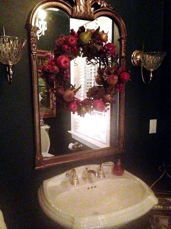 Christmas Decoration bathroom