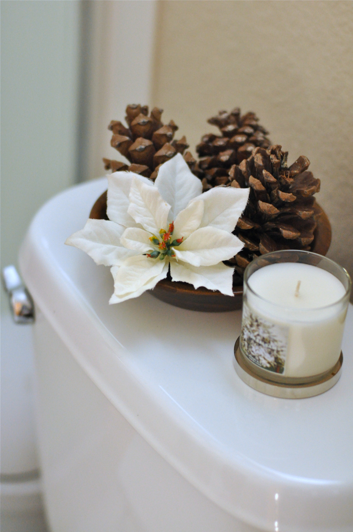Christmas Holiday Bathroom Decoration