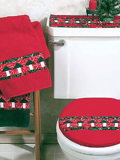Christmas Tree Bath Set