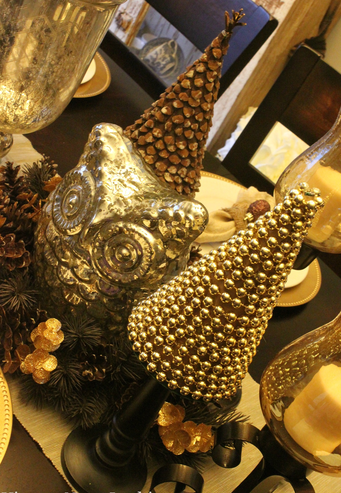 DIY Christmas Decorations Gold