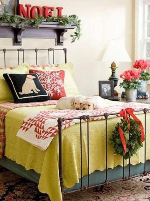 Guest Bedroom Christmas
