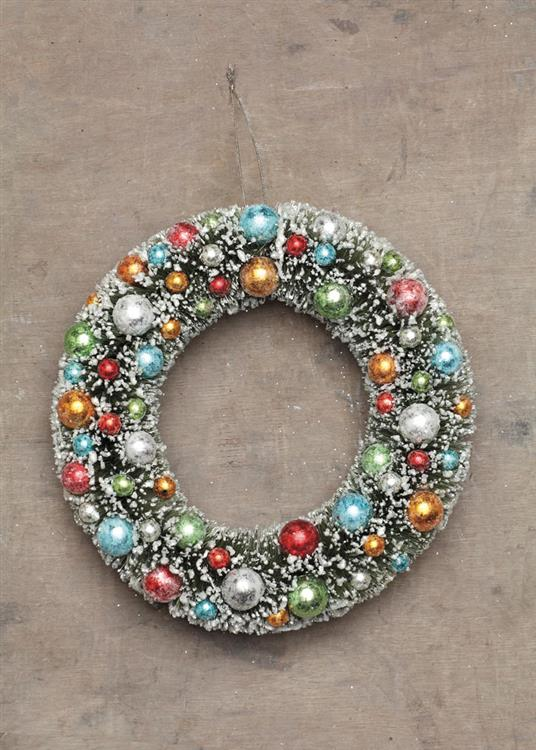 Modern Christmas Decor Wreath