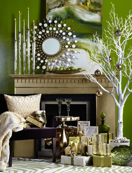 Surprising Modern Christmas Mantel Pictures - Best inspiration ...
