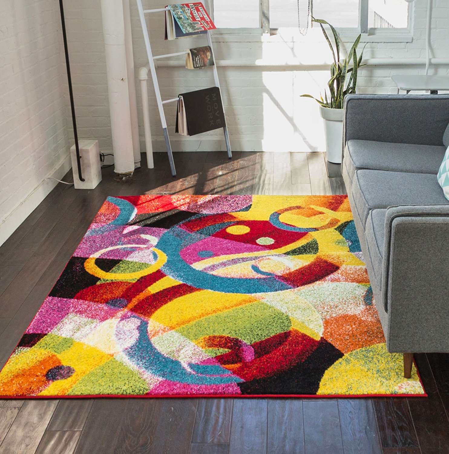 x ml area rugs dot charlie colorful rug modern blu
