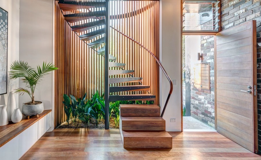 30 Wooden Spiral Staircase Design Ideas