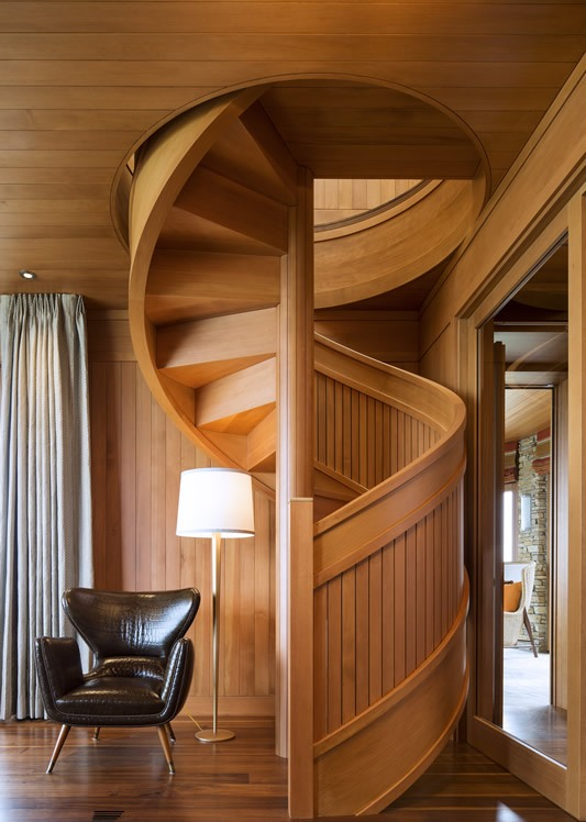 Wooden Spiral Staircase (5)