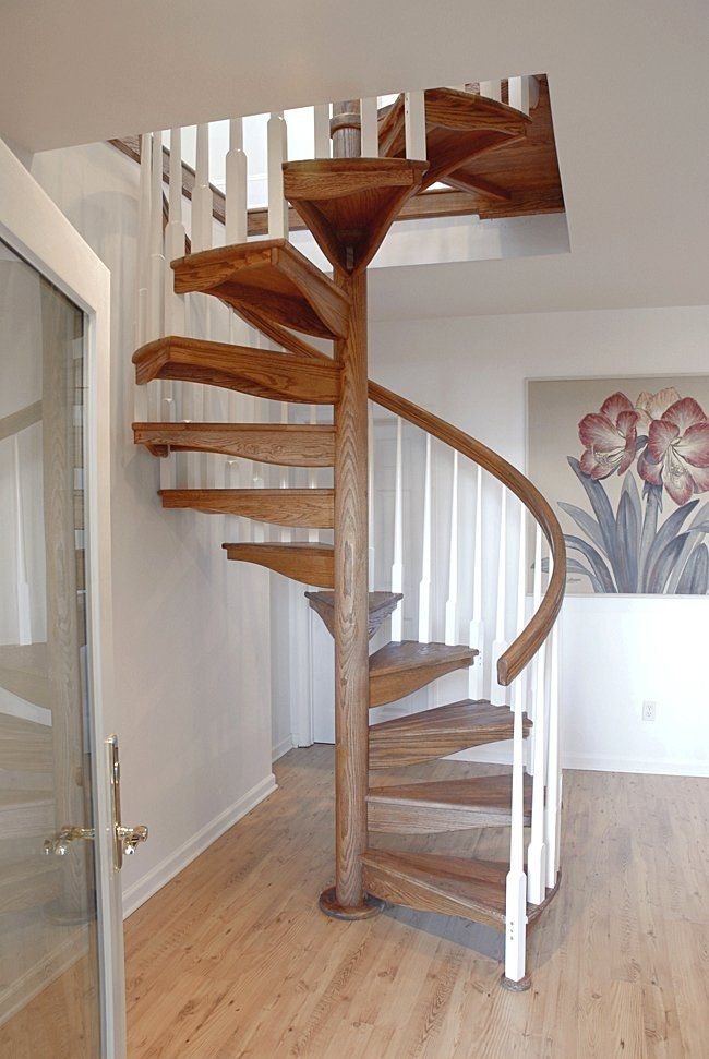 Wooden Spiral Staircase (7)