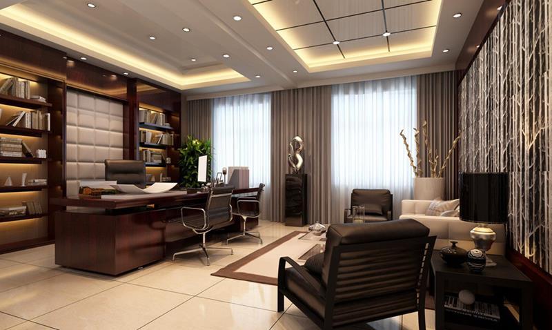 Modern Home Office thewowdecor (11)