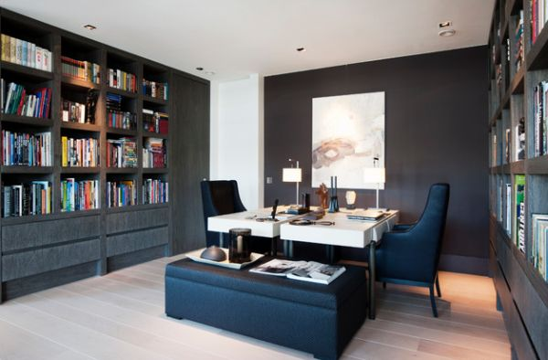 Modern Home Office thewowdecor (12)