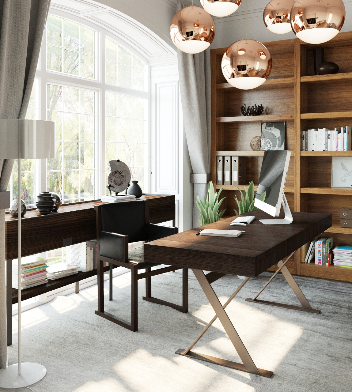 24 Luxury And Modern Home Office Designs: 35 Modern Home Office Design Ideas