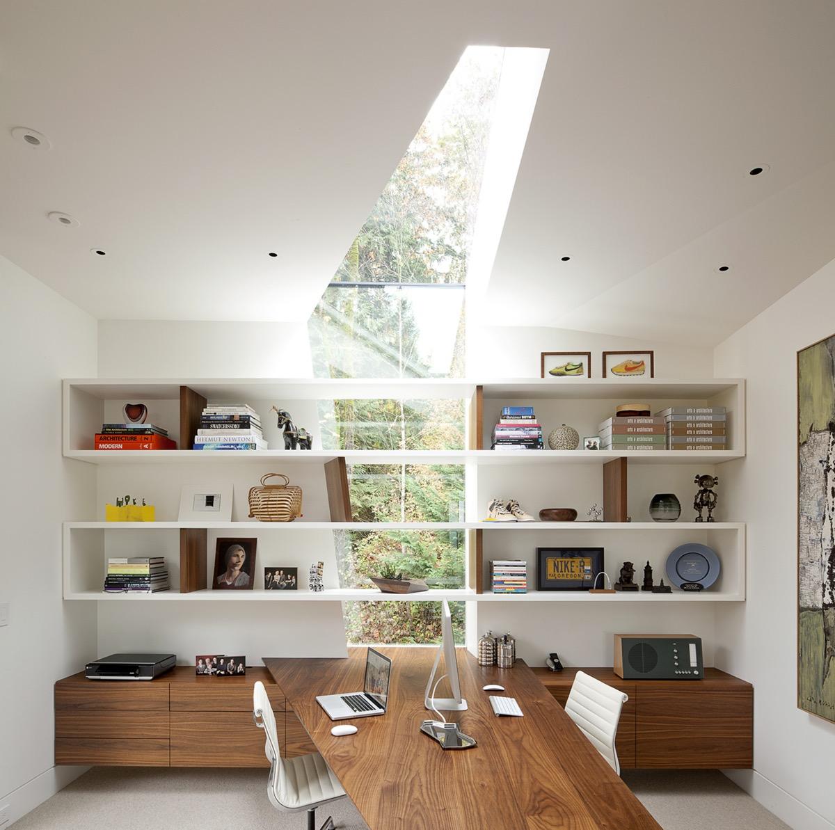 Modern Home Office thewowdecor (29)