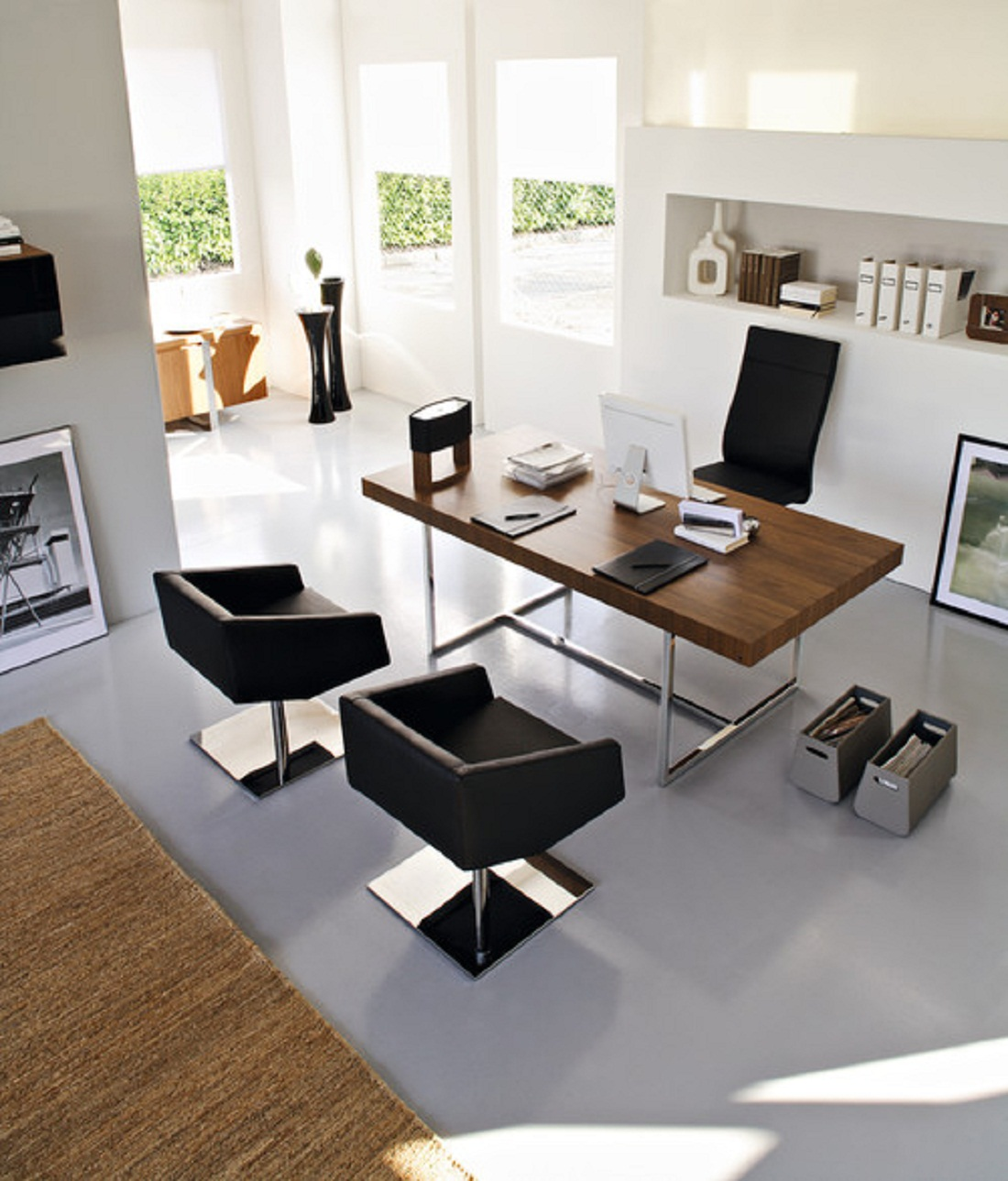 35 Modern Home Office Design Ideas: 35 Modern Home Office Design Ideas