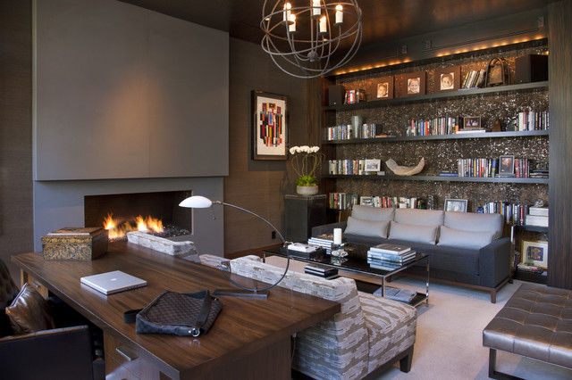 Modern Home Office thewowdecor (7)