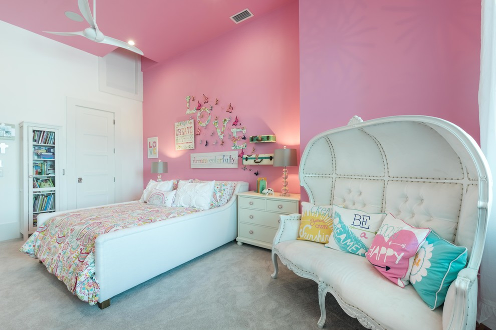 Traditional Barbie Theme Teen Bedroom Thewowdecor