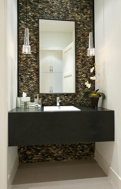 modern powder room design ideas powder room ideas - Room Design Pictures Ideas