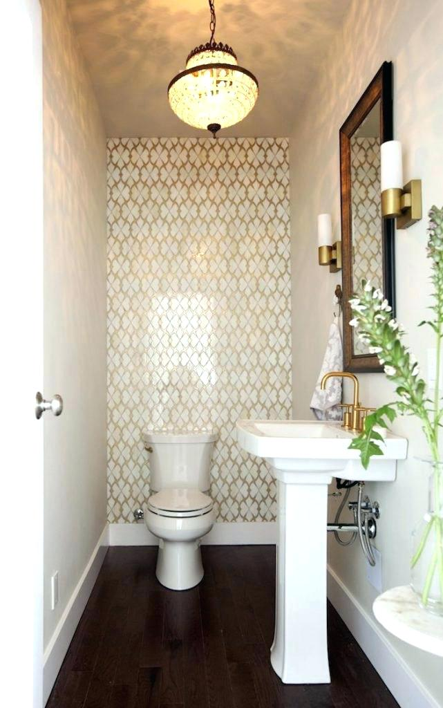 30 stunning powder room design ideas - Tiny powder room ideas ...