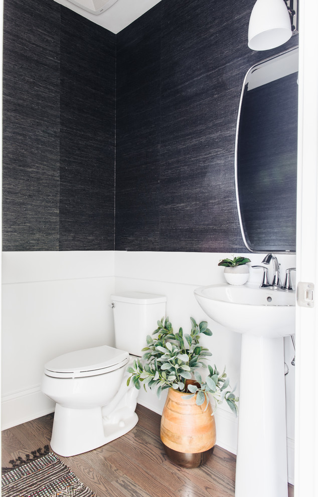 transitional-powder-room-designs