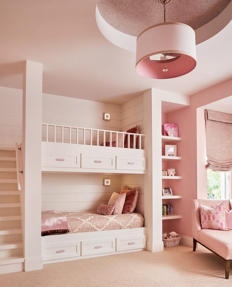 Beautiful Pink Theme GIrls BEdroom THewowdecor