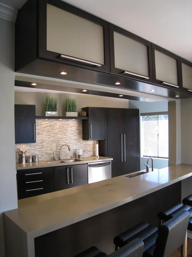 Frosted Glass Kitchen Cabinets Thewowdecor