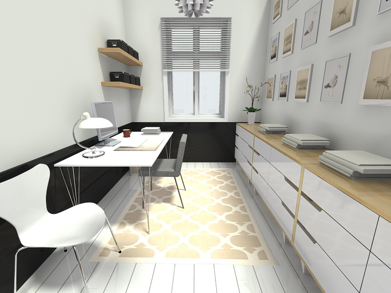 Ordinaire Scandinavian Style Home Office Design Thewowdecor