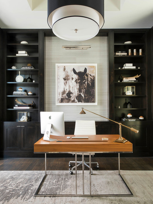 Beau Stunning Contemporary Home Office Design Thewowdecor