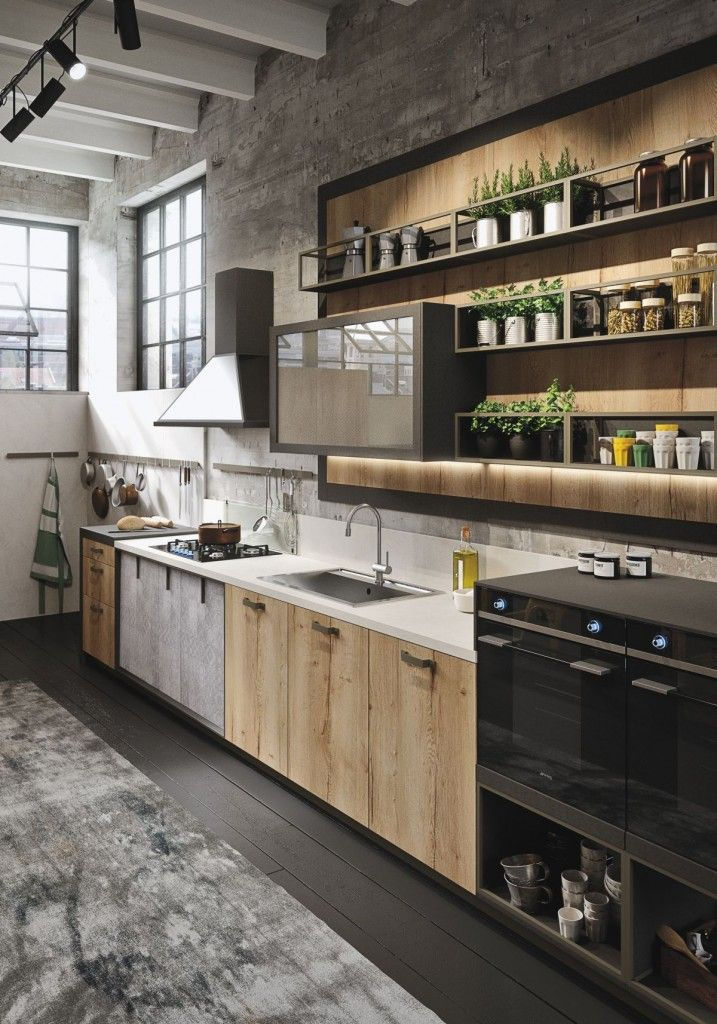 Amazing Industrial Kitchen Design