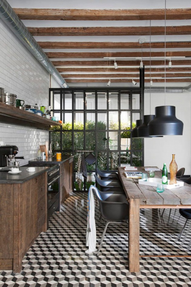 Modern-Industrial-Kitchen-Interior-Design