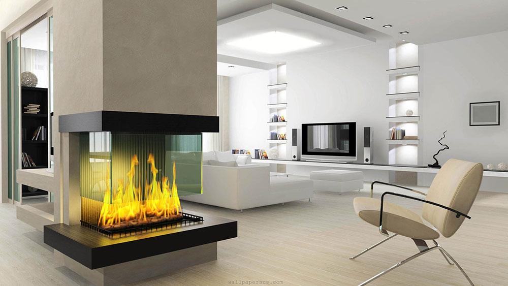 Unique Modern Fireplace Design