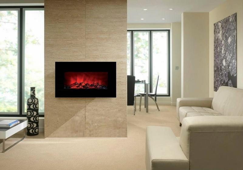 Wall Mount Fireplace Design