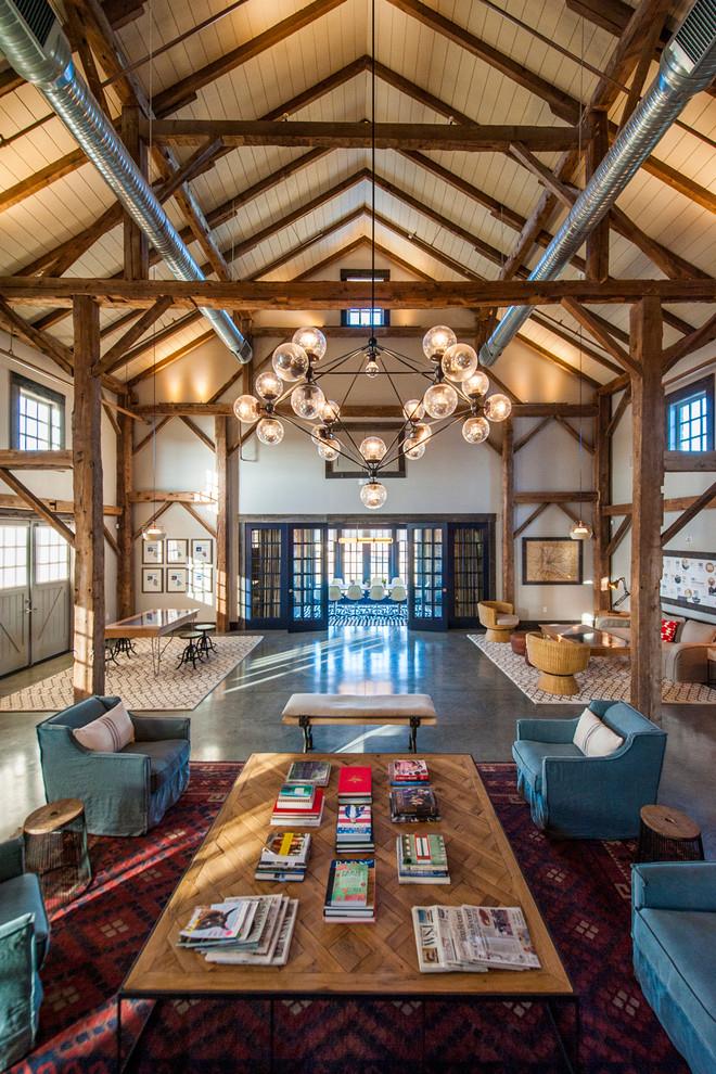 living-room-barn