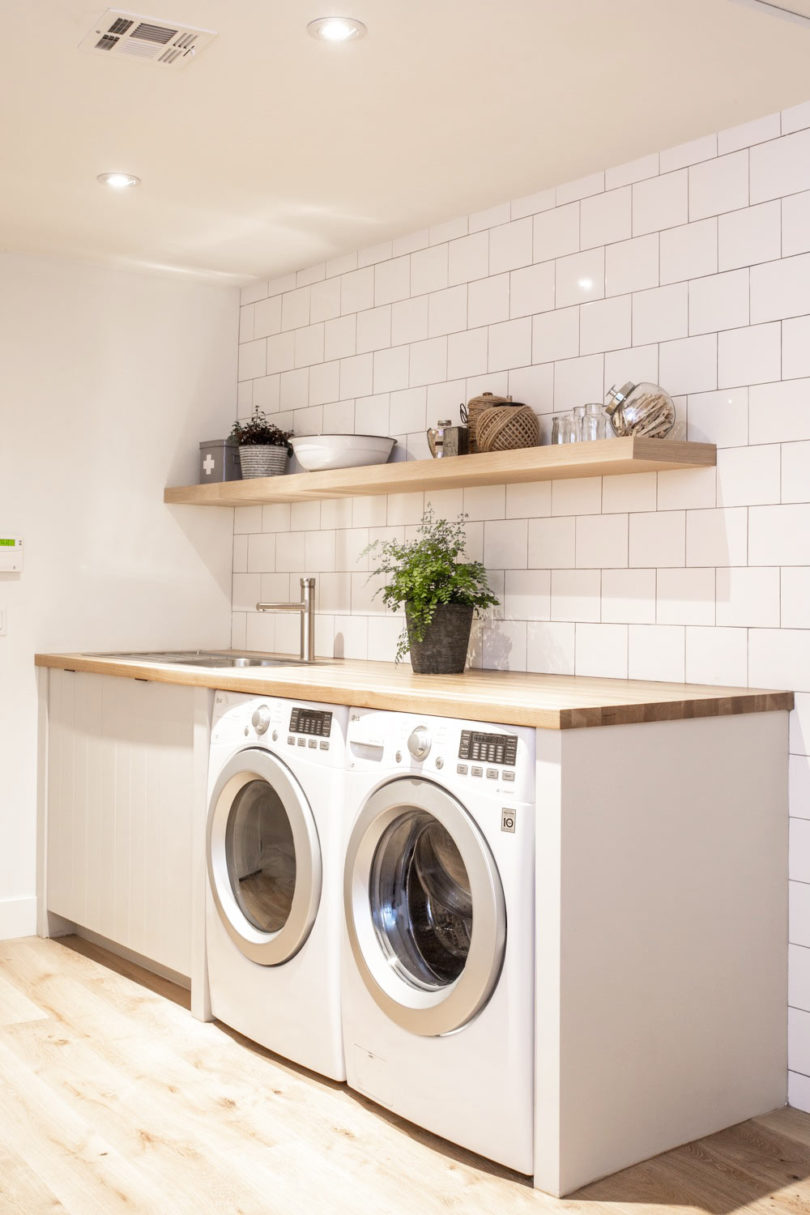35 Laundry Room Design Ideas For Better Organization on Laundry Decorating Ideas  id=88162