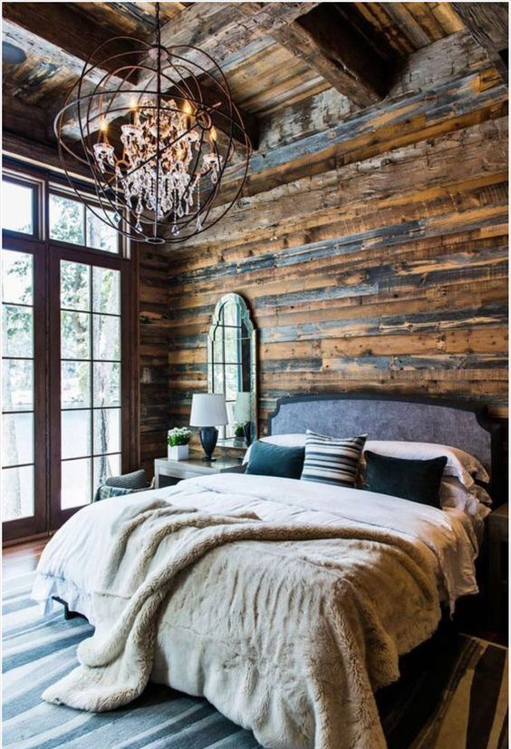 Rustic Bedroom Design Inspiration (2)