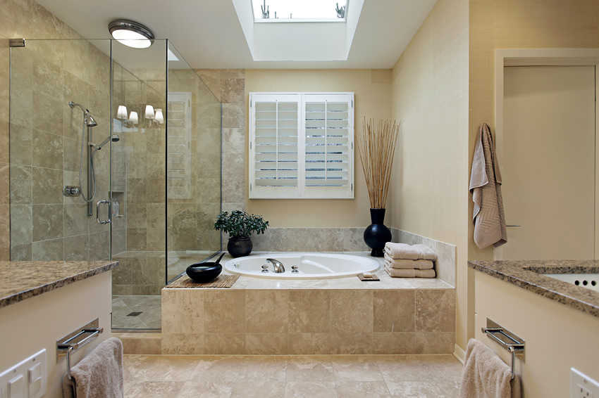 master-bath-skylight-granite-counter-tops