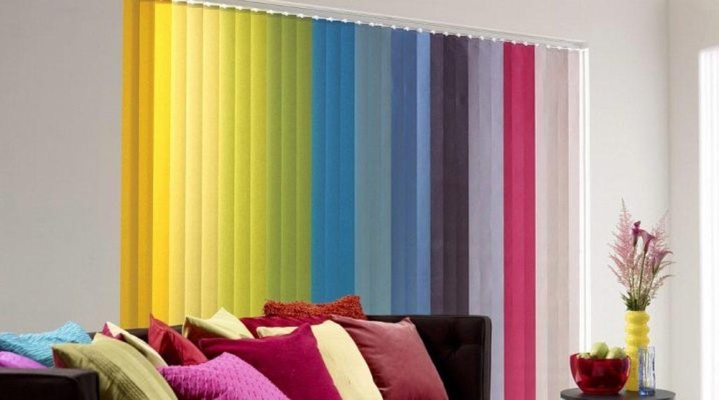 Colorful Window Treatments