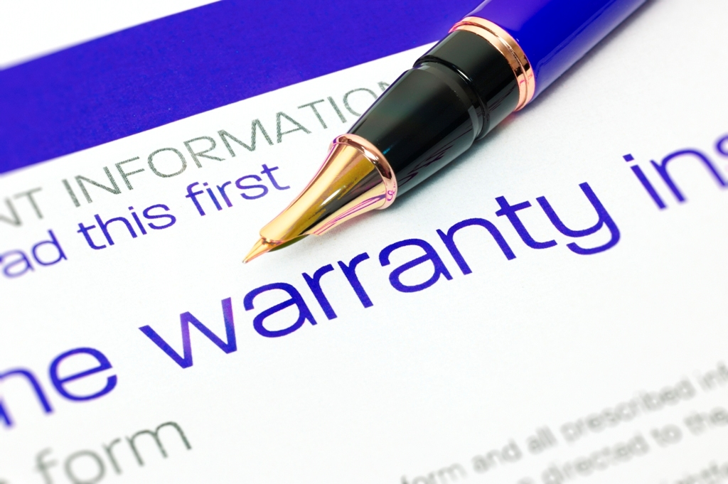 Insist on an Extensive Warranty