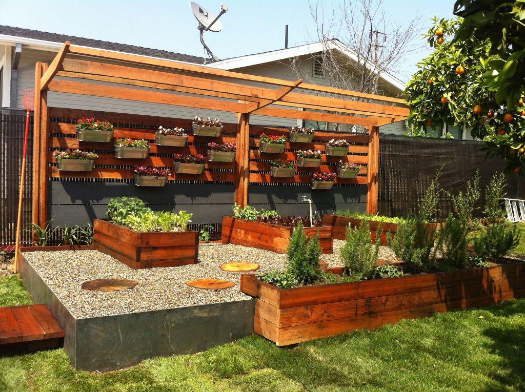 Put Your Garden Around Non-Garden Items