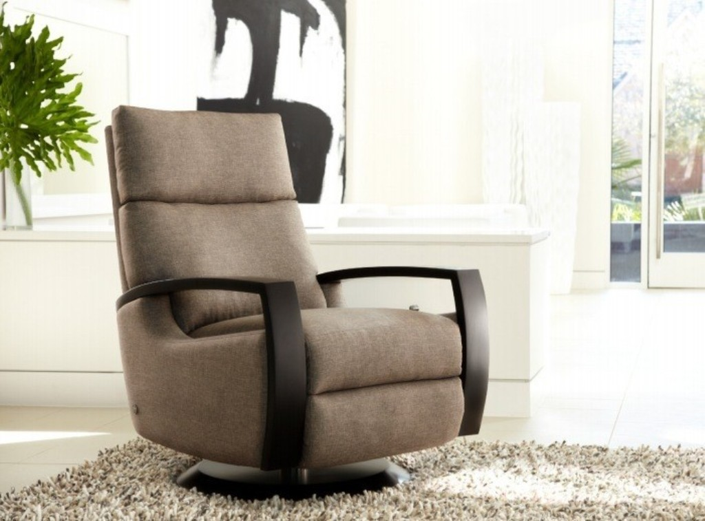 Beautiful recliner adding more beauty with a matching rug