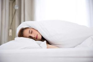 Use a Calming Weighted Blanket to Fight Sleep-Related Problems