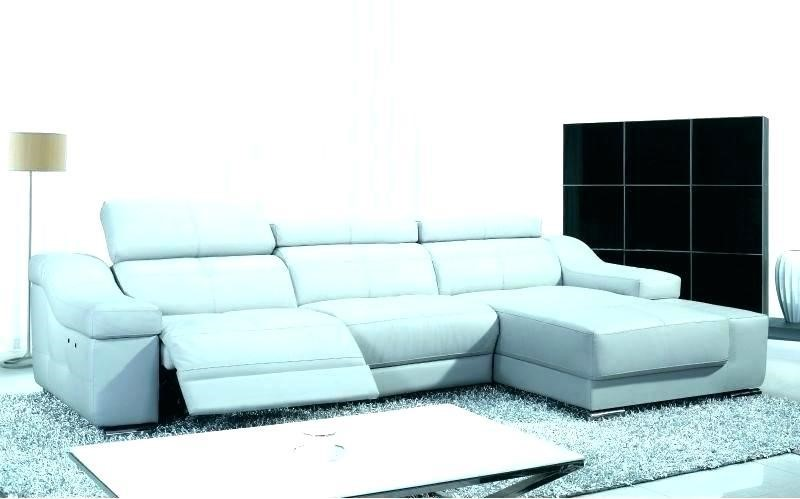 Class and coastal vibes work their charm well with this blue recliner sofa