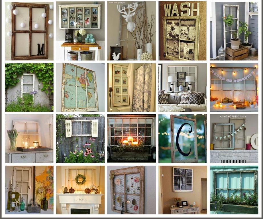 decorate wood window