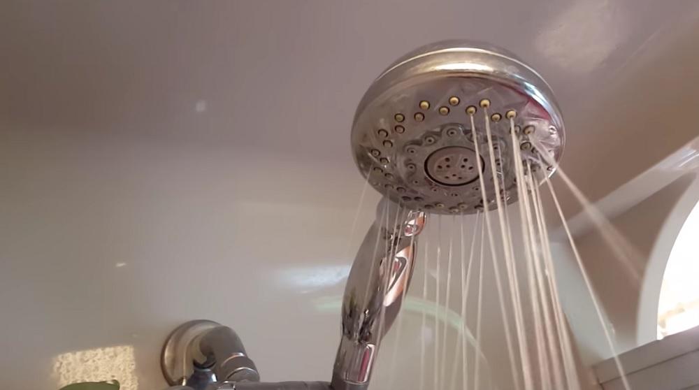 Clogged Showerhead