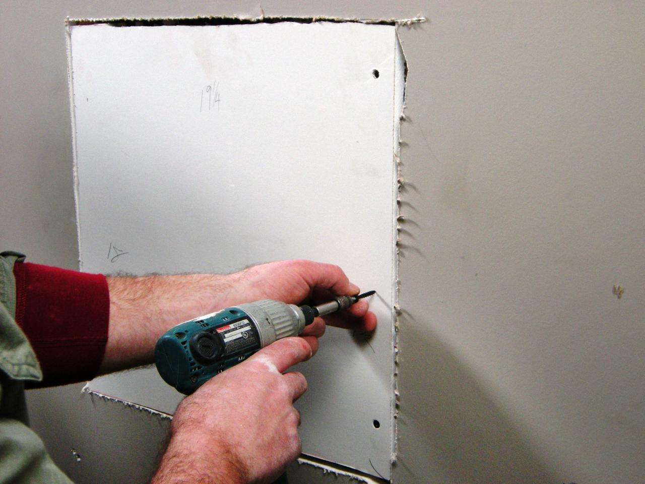 Cover Holes And Repair Cracks