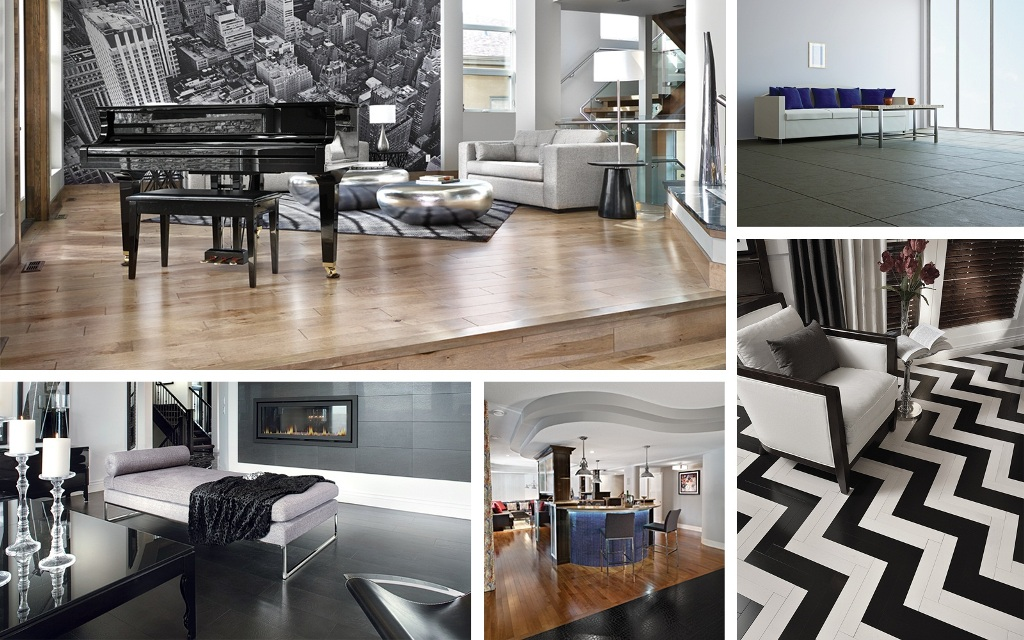 Exceptional Workmanship To Combine Different Types Of Flooring With Wall Designs