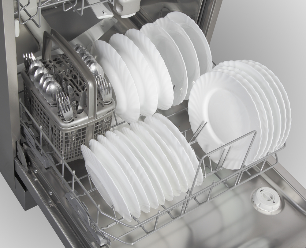 An easy way to clean your dishwasher
