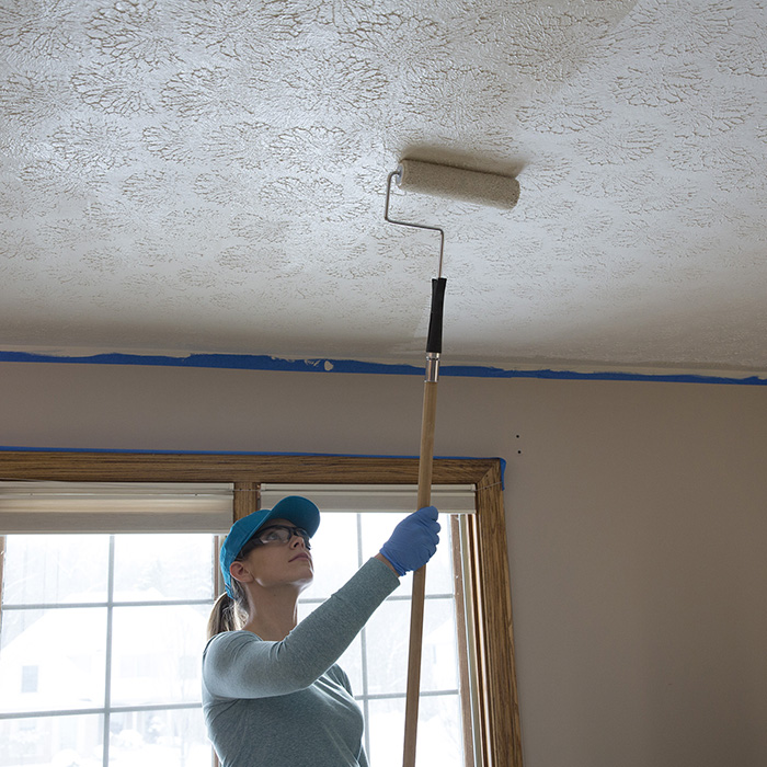 Paint The Ceilings And Walls