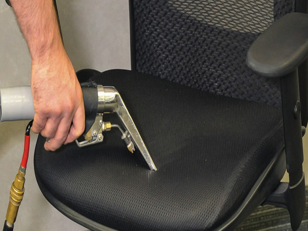 What are the basic cleaning methods for chair fabric